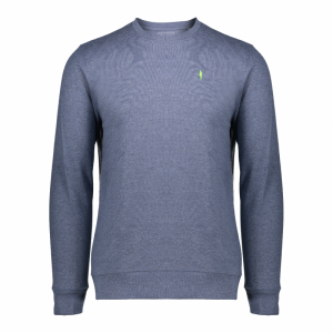Koedoe & Co sweater men bright blue morning front