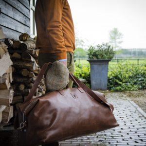 Koedoe & Co Leather Travel Bag Large