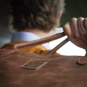 Koedoe & Co Leather Travel Bag Detail
