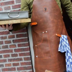 Leather Cooking BBQ Hunting Apron Koedoe & Co